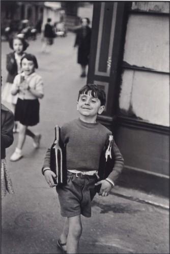 Rue Moffetard, Henri Cartier-Bresson, `1954